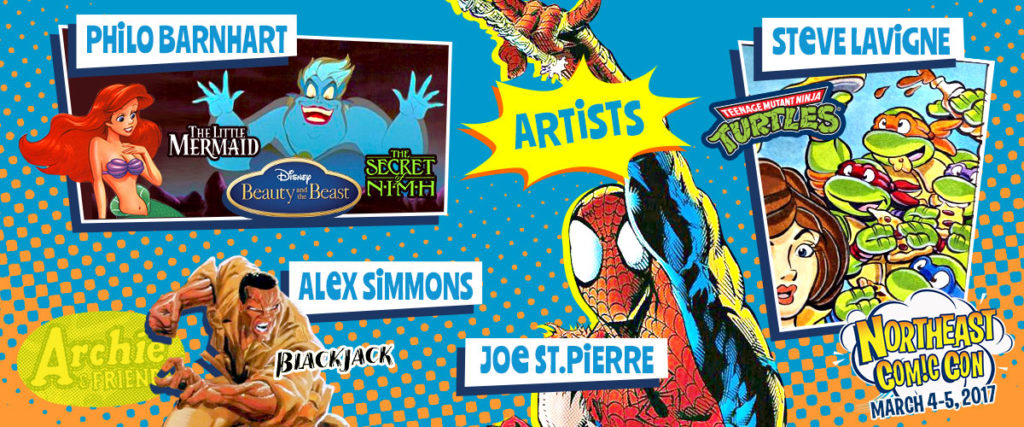 NEComicCon March 4-5 is about COMICS