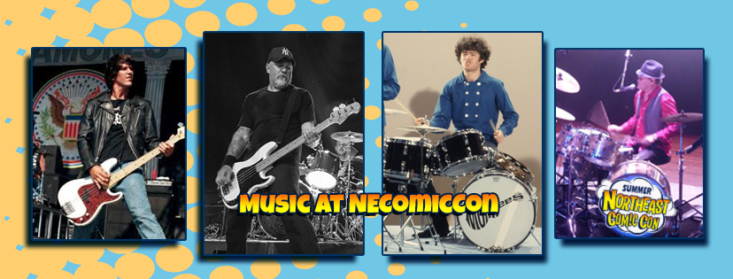 Music at NorthEast ComicCon July 6-8