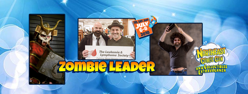 Zombie Leader Infects NorthEast Comic Con this Summer!