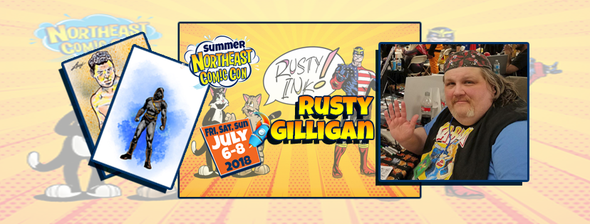 Meet Artist and Voice Over Actor Rusty Gilligan July 2018