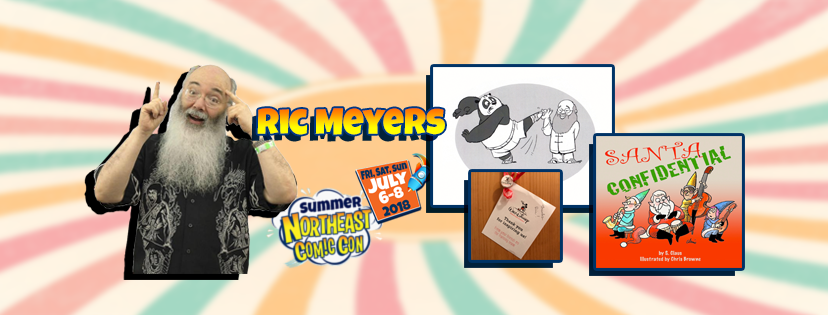 Ric Meyers Won't Stop Talking at the NorthEast Comic Con