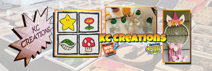KC Creations at the NorthEast Comic Con