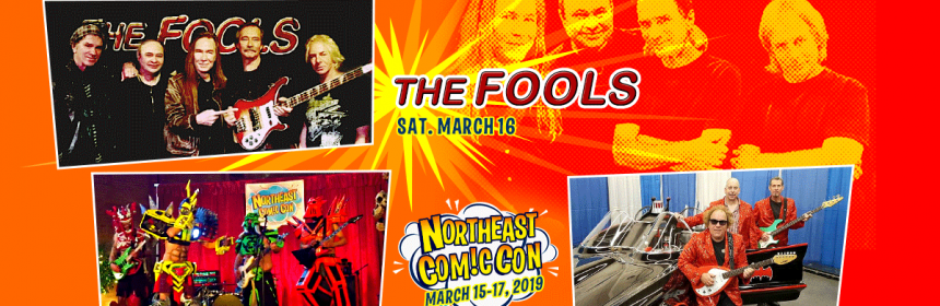 The FOOLS, GWELLO, ToS at NEComicCon March 16 AfterParty Concert