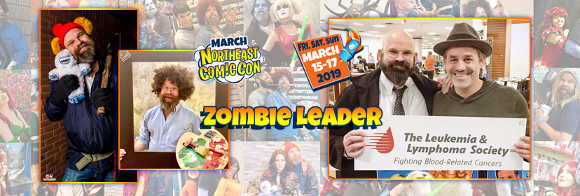 Zombie Leader Returns to Infect the NorthEast Comic Con